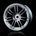 Miscellaneous All RE30 Wheel (+3) (4) Flat Silver by MST