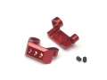 Axial Yeti Aluminum Rear Sway Bar Mount - 1 Set Red by VIM