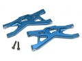 Axial Yeti Aluminum Lower Front Control Arms Set - 1 Pair Blue by VIM