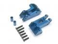Axial Yeti Aluminum Rear 4 Link Mounts - 1 Pair Blue by VIM