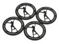 Miscellaneous All KRAIT™ VEGAS Aluminum 1.9 Beadlock Ring (4) Black by Boom Racing