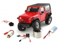 Orlandoo Hunter Model Orlandoo Hunter Jeep Rubicon Orlandoo Hunter OH35A01 Kit Assemble Climbing Micro Crawler Combo (Kit, Servo,motor,PCB) w/ free Lipo Battery by Orlandoo Hunter Model