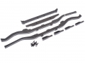 Team Raffee Co. Miscellaneous All TRC Defender D90 Extended Chassis Rail & Bumper Set