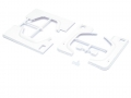 Miscellaneous All Fender Kit and Body Panel for TRC D90 Defender TRC/302223 and TRC/302224 by Team Raffee Co.