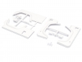 Team Raffee Co. Miscellaneous All Fender Kit and Body Panel for TRC D110 Defender TRC/302214 and TRC/302215 (Rounded)