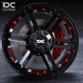 Miscellaneous All 2.2 Aluminum Beadlock T-01 Black Wheels 2pcs by Team DC