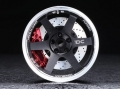 Miscellaneous All Drift TE37 TTA Rim Set + 6 offset Black (2 pcs) by Team DC