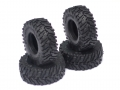 Orlandoo Hunter Model Orlandoo Hunter Jeep Rubicon Big Block Tires Ver C 4 Pcs For OH35P01 OH35A01 by Orlandoo Hunter Model