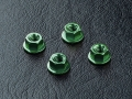 Miscellaneous All Aluminum Wheel Nut (4) Green by MST