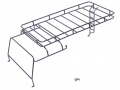 Miscellaneous All Metal Roof Rack Luggage for Team Raffee Co. TRC Defender D110 Station Wagon by Team Raffee Co.