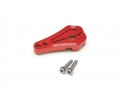 Miscellaneous All Aluminum Low Profile Servo Horn 25T Red by Boom Racing