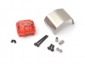 Boom Racing Axial SCX10 II AR44 PHAT™ Axle Diff Cover W/ ARMOUR™ Skid Plate