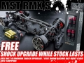 MST RMX S RMX S 1/10 High Performance RWD Drift Car Kit Free MST Aluminum Shock upgrade and Boom Racing 007-BRV2 Gyro by MST