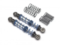 Miscellaneous All Aluminum Double Spring Shocks 70mm (2) for Crawlers Black by Team Raffee Co.