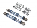 Miscellaneous All Aluminum Double Spring Shocks 90mm (2) for Crawlers Black by Team Raffee Co.
