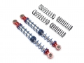 Miscellaneous All Aluminum Double Spring Shock 110mm (2) Red by Team Raffee Co.