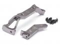 Axial SCX10 II Aluminium Front Frame Brace Gun Metal by Boom Racing