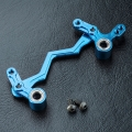 Miscellaneous All Aluminum Steering Arm Set Blue by MST