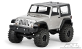 Axial SCX10 2009 Jeep Wrangler Rubicon Clear Body for 11.8 (300mm) Wheelbase Scale Crawler by Pro-Line Racing