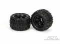 Miscellaneous All Trencher X 3.8 (Traxxas Style Bead) All Terrain Tires Mounted by Pro-Line Racing
