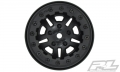 Miscellaneous All FaultLine 2.2 Black/Black Bead-Loc 10-Spoke Front or Rear Wheels by Pro-Line Racing