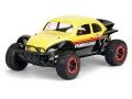 Traxxas Slash 4X4 Volkswagen Baja Bug Clear Body by Pro-Line Racing
