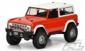 Vaterra K5 Blazer Ascender 1973 Ford Bronco Clear Body for 12 by Pro-Line Racing