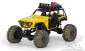 Axial Wraith Jeep Wrangler Rubicon Customized Clear Body by Pro-Line Racing