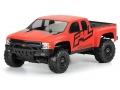 Team Associated SC10.2 Factory Team Chevy Silverado HD Clear Body by Pro-Line Racing
