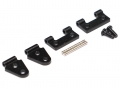 Miscellaneous All Metal Hood Bonnet Hinge for TRC Defender D90 & D110 by Team Raffee Co.