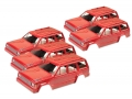 Team C Miscellaneous All Clear Cherokee XJ 1/10 Rock Crawler Body (5pcs) For 290mm Chassis