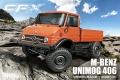 MST 1/10 CFX CFX 1/10 4WD High Performance Off-Road Car KIT M-Benz Unimog 406 Body w/o ESC & motor by MST