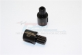 Traxxas XMAXX Harden Steel #45 Front Or Rear Wheel Joints For 6S -2Pc Set Black by GPM Racing