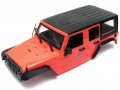Miscellaneous All 5 Door Rubicon Hard Body for 1/10 Crawler 313mm Red by Team Raffee Co.