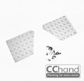 Axial SCX10 Axial SCX10 XJ - Rear Diamond Plates by CChand