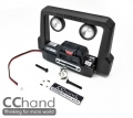 RC4WD Gelande II D90/D110 D90 Metal Light & Winch Bumper (Led+RC4WD Winch) by CChand