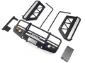 Miscellaneous All LC70 - Front Bumper + Side Bar + Side Sliders (Black) by CChand