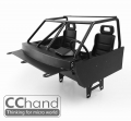 RC4WD Trail Finder 2 Metal Interior for RC4WD TF2 Body  + SCX10 / SCX10 II Chassis by CChand