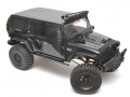 Traction Hobby Cragsman 1/8 RTR Crawler (Rubicon Black Body) by Traction Hobby