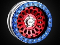 Miscellaneous All 2.2 Aluminum Beadlock Wheel (American Force Version) for RC Crawler (2) by Team DC