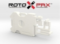 Miscellaneous All RotopaX 2 Gallon Fuel Pack - WHITE in White Strong & Flexible Polished by Knight Customs