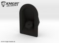 Traxxas TRX-4 TRX-4 Defender D110 Fuel Cap in Black Strong & Flexible by Knight Customs