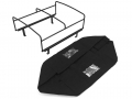 CChand Miscellaneous All LC70 Rear Bed Cage + Soft Top (Black)