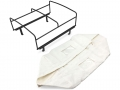Miscellaneous All LC70 Rear Bed Cage + Soft Top (White) by CChand