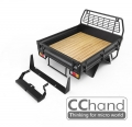 CChand Miscellaneous All LC70 Kober Rear Bed + Tire Holder (Black)
