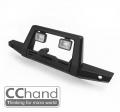 CChand Traxxas TRX-4 Metal Front Knight Bumper + Shoot Light for Traxxas TRX4 D110