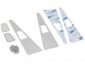 Team Raffee Co. Traxxas TRX-4 Metal Side Hood Diamond Plate With Air Vent (2)