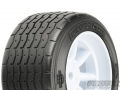 Miscellaneous All PROTOform VTA Rear Tires (31mm) Mounted On White Wheels (2) For VTA by Pro-Line Racing