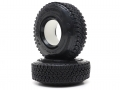 Miscellaneous All 1.55 SP Road Tracker Crawler Tire Gekko Compound 3.46x0.94 Inch (88x24mm) (2) by Boom Racing