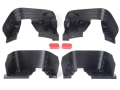 Axial SCX10 3D PLA Front & Rear Inner Fender Set for Axial #90027 Jeep Wranger by GRC